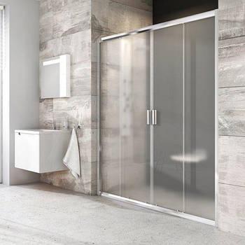 Душевые двери Ravak Blix 120 см BLDP4-120 полированный алюминий+transparent