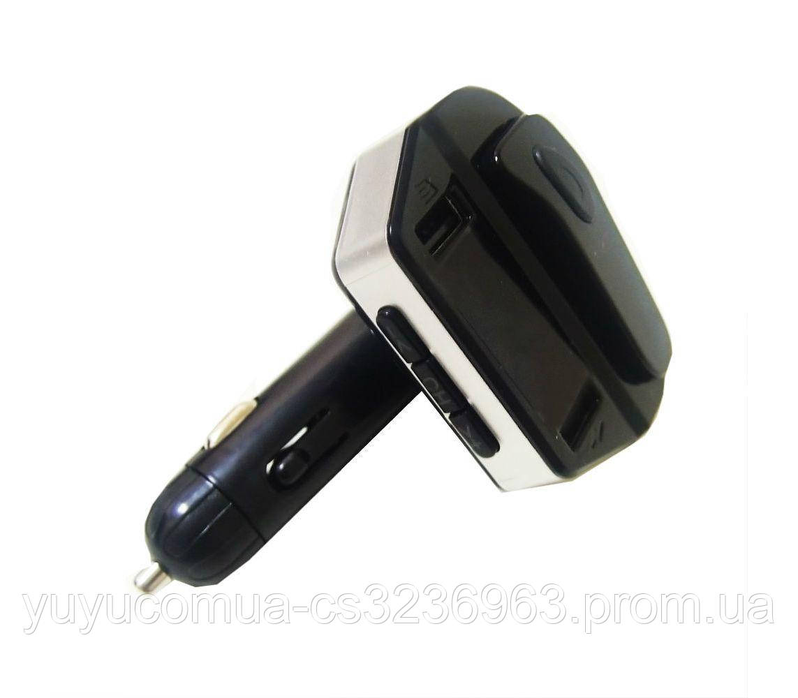 Автомобильный трансмиттер FM-модулятор HER8 з Bluetooth гарнитурою