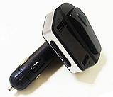 Автомобильный трансмиттер FM-модулятор HER8 з Bluetooth гарнитурою, фото 3
