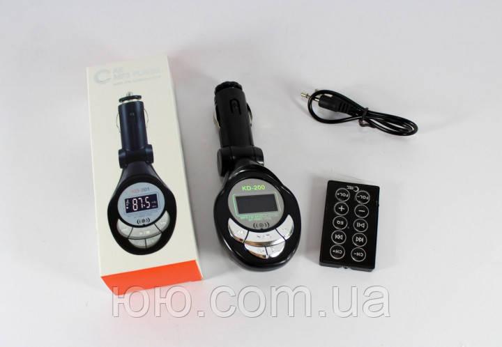 Автомобильный FM трансмиттер модулятор P01D BOX с Bluetooth