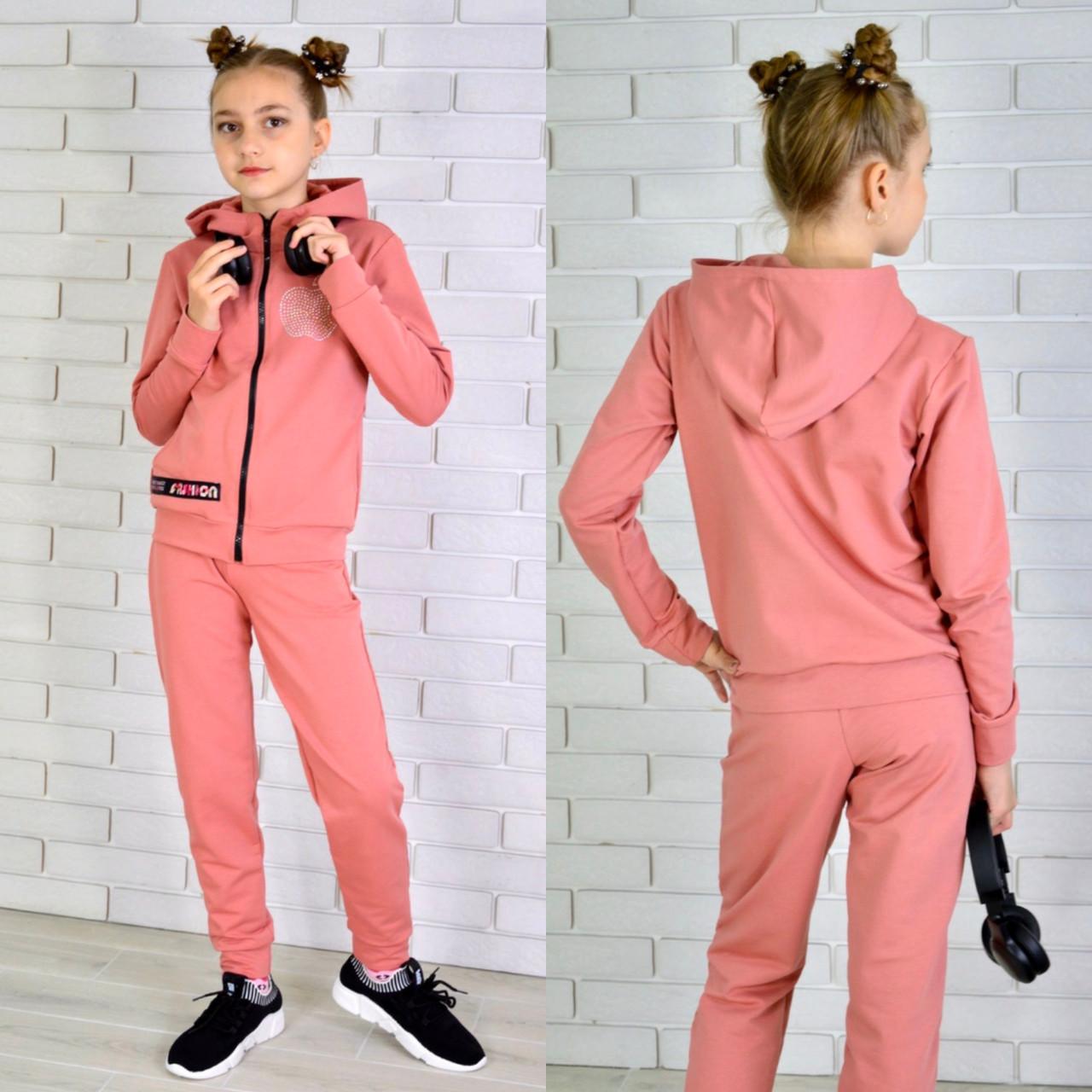 Спортивный костюм на девочку МИШЕЛЬ (двухнитка) 122-134-146