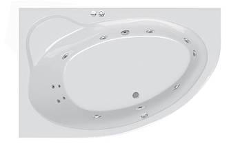 Гидромассажная ванна Ravak Asymmetric II 150 R Beauty Pro белый (GMSR0894)
