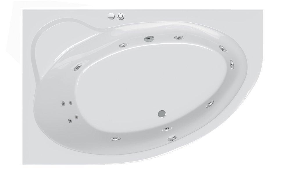 Гидромассажная ванна Ravak Asymmetric II 150 R Beauty Pro (GMSR0892)
