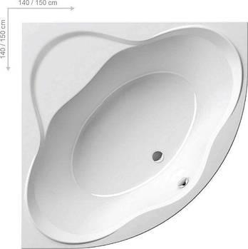 Ванна Ravak NEW DAY  PU PLUS 140x140 (снято с производства)