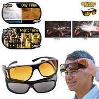 Антибликовые очки для водителей HD Vision Wrap Arounds, 2 шт. (для дня и ночи), Очки антифары, Водительские оч