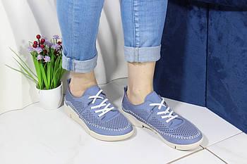 Голубые летние кроссовки Meldymoor 228-mavi