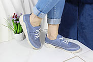 Блакитні літні кросівки Meldymoor 228-mavi, фото 3