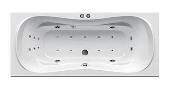 Гидромассажная ванна Ravak Campanula II 170x75 Relax Base (GMSR1447)