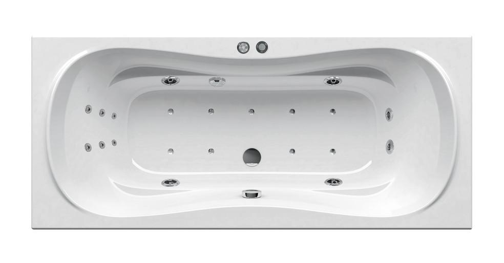 Гидромассажная ванна Ravak Campanula II 170x75  Power Ultra белый (GMSR1471)