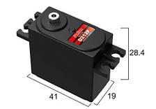 Сервопривод стандарт 46г BATAN D212F 10.0кг/0.06сек металл цифровой