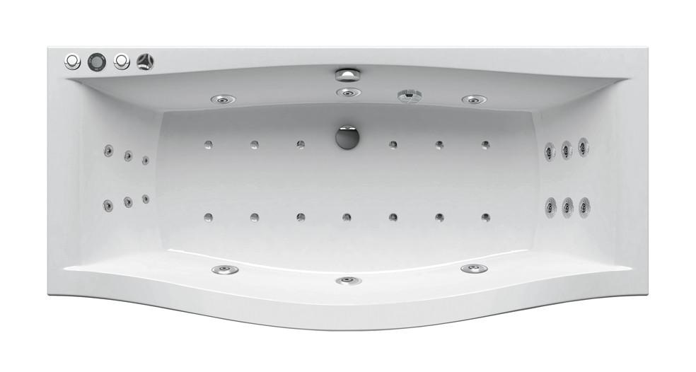 Гидромассажная ванна Ravak Magnolia 180x75  Power Ultra (GMSR1539)