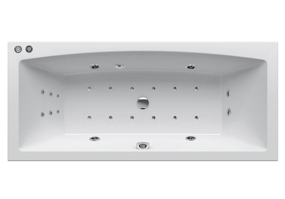 Гидромассажная ванна Ravak Formy 02 180x80  Duo Base (GMSR1571)