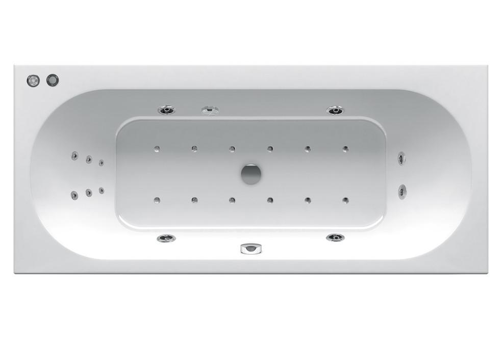 Гидромассажная ванна Ravak City Slim 180x80  Beauty Base (GMSR1672)