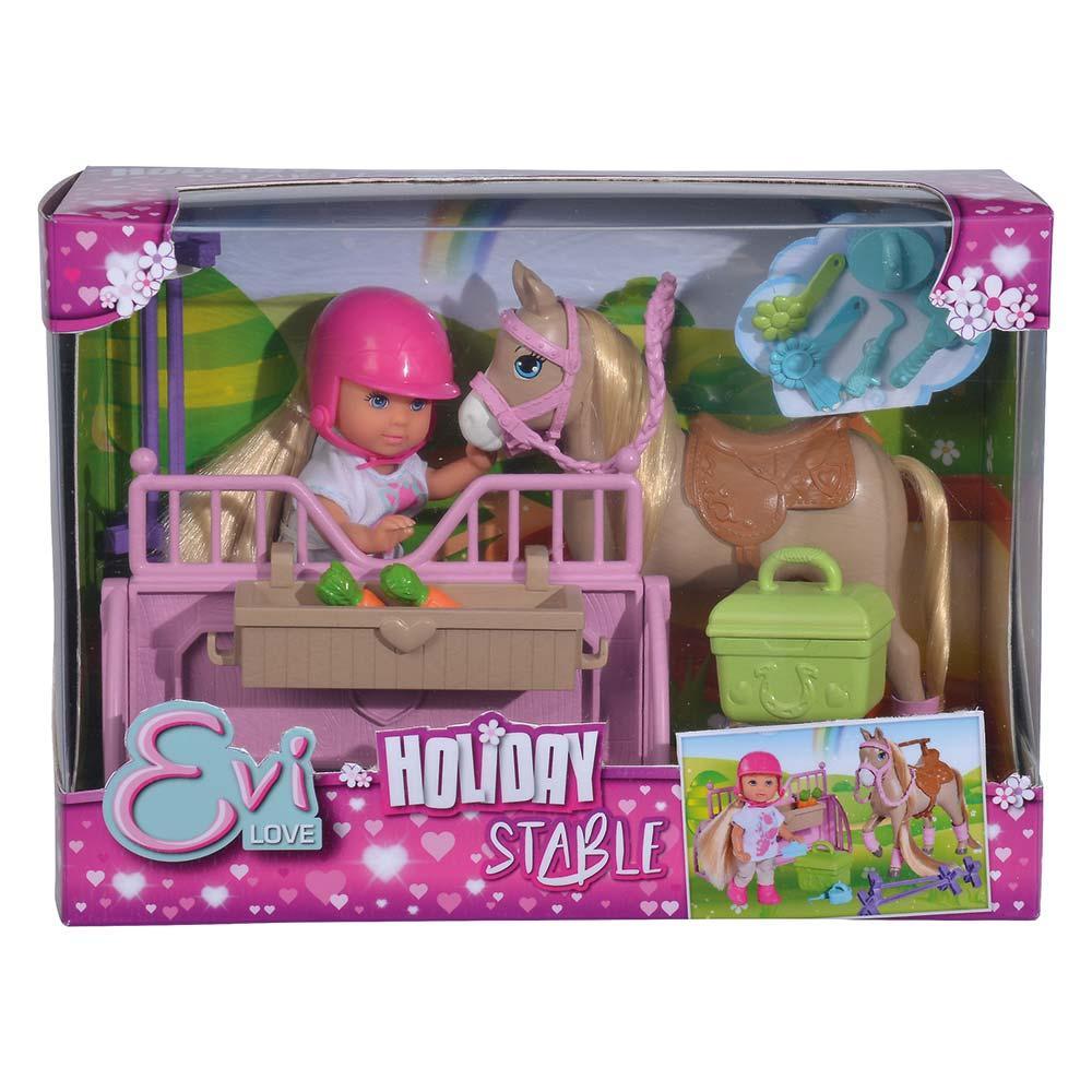 Уценка набор Simba Toys Holiday Конюшня Evi Love с лошадкой и акс (5733274)