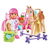 Уценка набор Simba Toys Holiday Конюшня Evi Love с лошадкой и акс (5733274), фото 2