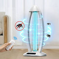 Кварцевая лампа бактерицидная БЕЗ ОЗОНОВАЯ 38W дезинфекция на 360° дистанционное управление!