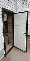 Дверь (зашивка сендвич-панель) 900*2000, цвет махагон, фото 4