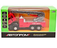 Машинка игровая Автопром «Пожарная машина» со звуковыми и световыми эффектами (5002), фото 2