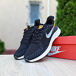 Чоловічі кросівки Nike ZOOM Air (чорно-помаранчеві) 10174, фото 6
