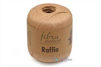 FibraNatura Raffia, Карамель №116-14