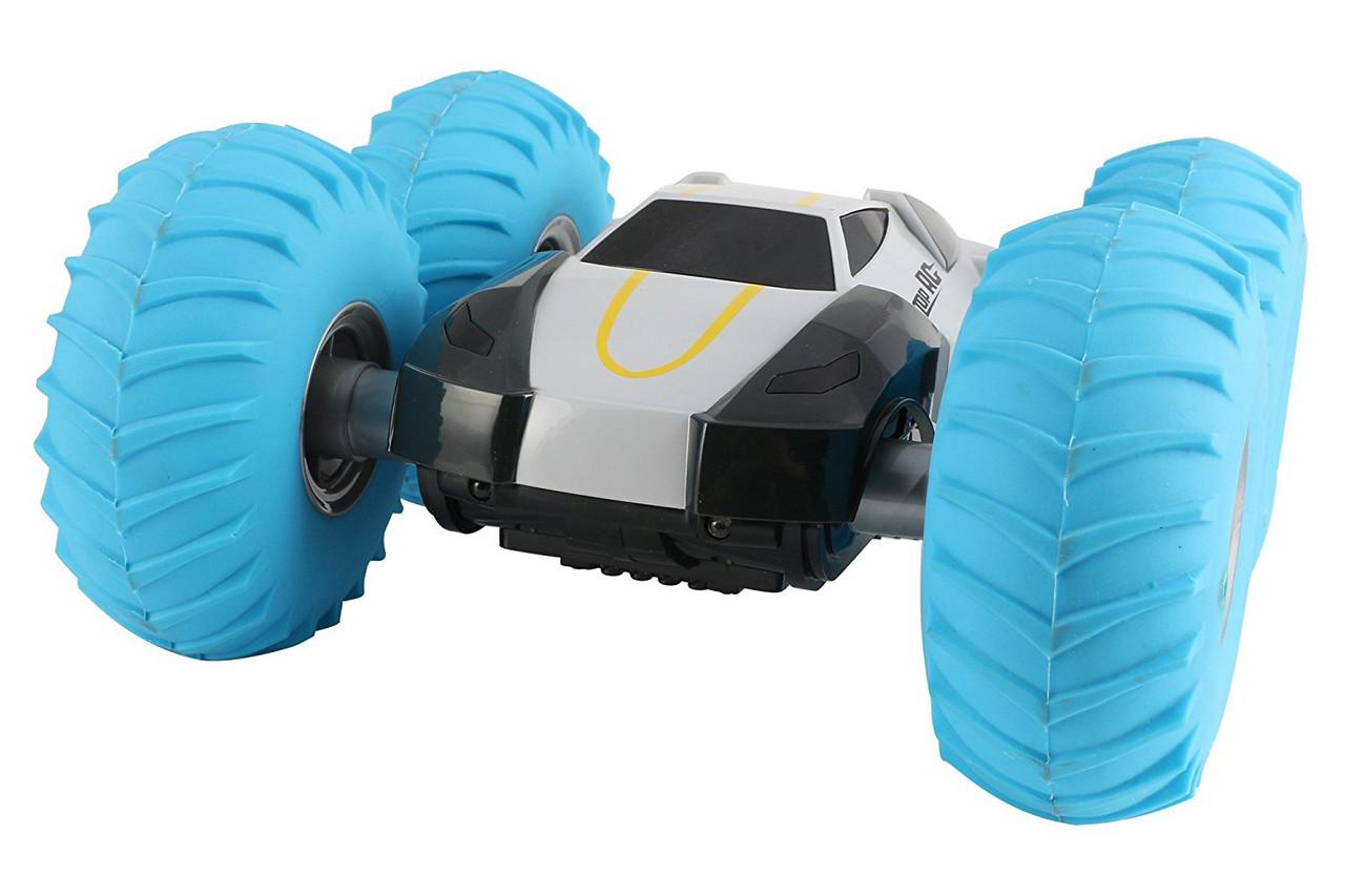 Перевертень на радіокеруванні YinRun Speed Cyclone з надувними колесами (сірий)