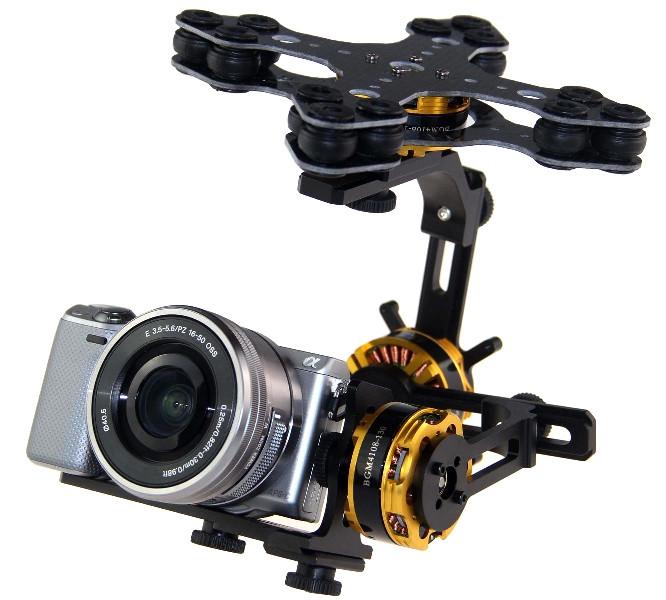 Підвіс трьохосьовий гіростабілізований DYS для камер Sony NEX