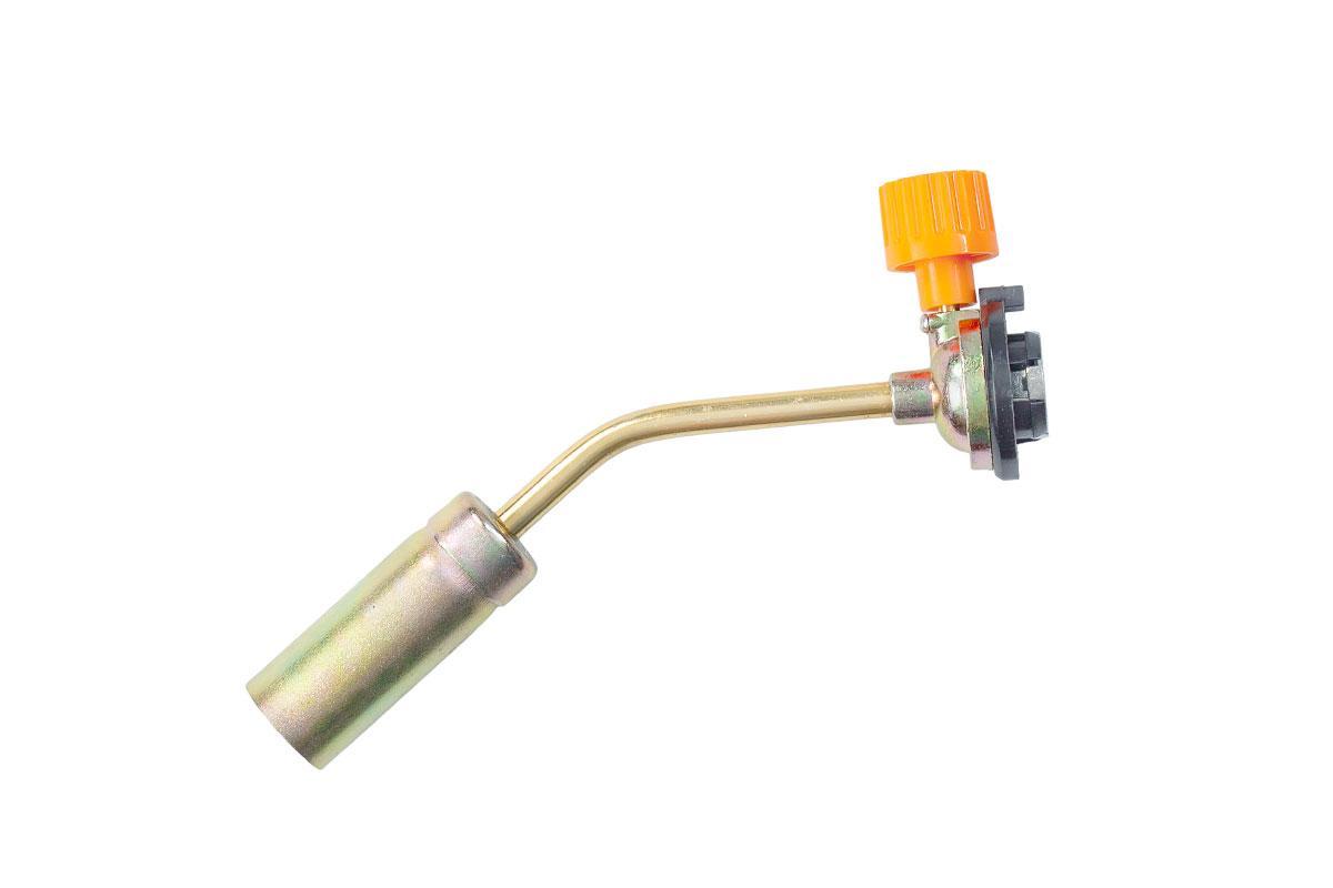 Горелка газовая, удлиненное сопло, изогнутая. Max температура пламени — 1300 °С. HTools, 44K134