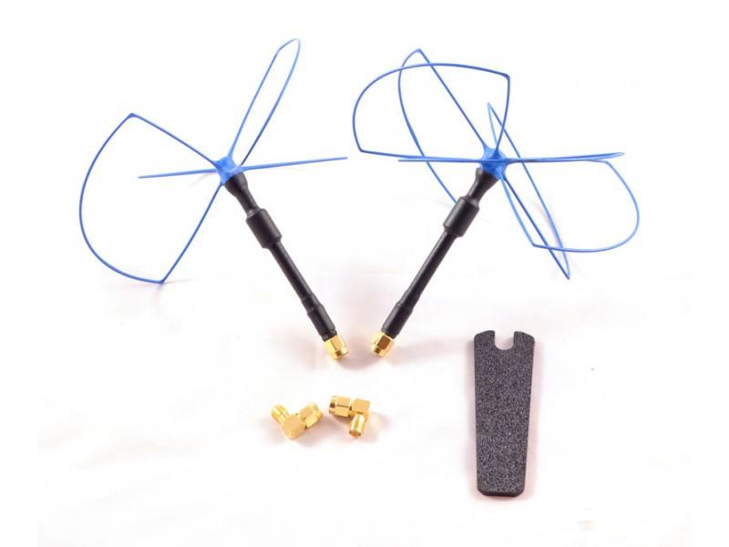 Комплект антенн 2,4 ГГц IBCrazy Blue Beam Ultra LHCP для FPV систем