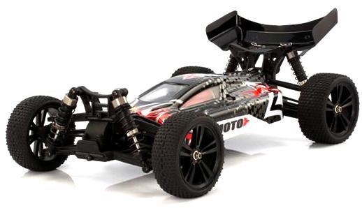 Радіокерована модель Баггі 1:10 Himoto Tanto E10XB Brushed (чорний)