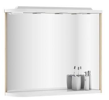 Зеркало Ravak Praktik M 780 L береза/белое