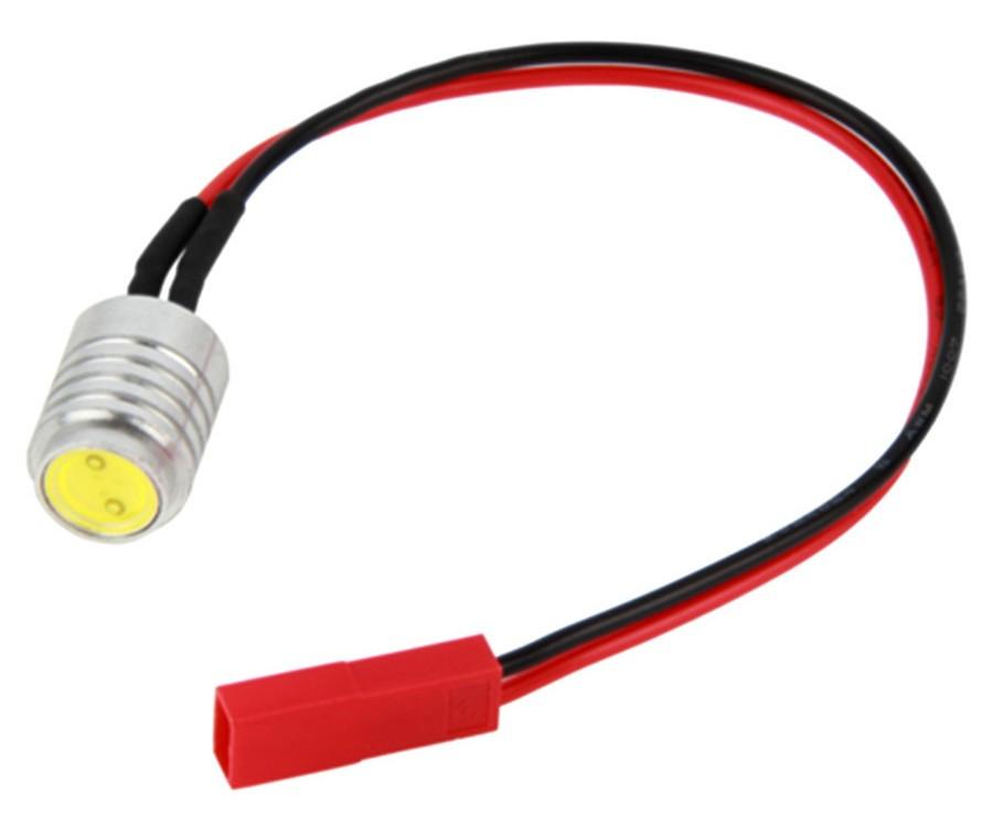 Світлодіод білий Tarot 1.5 12V W JST для моделей (TL2816-07)