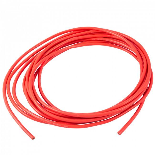 Провід силіконовий DYS 22 AWG (червоний), 1 метр