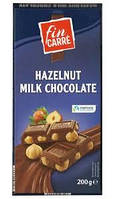 Шоколад молочный с лесным орехом Fin Carre 200г Германия