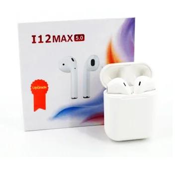Беспроводные сенсорные наушники TWS i12 max