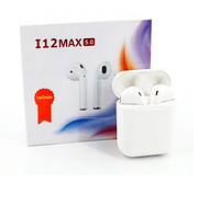 Беспроводные сенсорные наушники TWS i12 max, фото 1