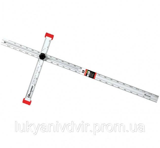 Т-уголок KAPRO для ГПК 120 см.
