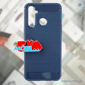 Чохол TPU Slim Realme 5 Pro синій