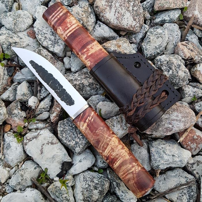Нож ручной работы Якут №12