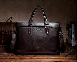 Мужская сумка вместительная POLO. Сумка для документов, ноутбука. Высокое качество. Доступная цена. Код: КЕ157