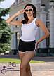 Бордові жіночі спортивні короткі шорти без кишень, фото 4
