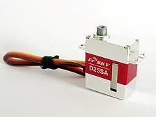 Сервопривод HV микро 22г FrSky D25SA 2,3/3,2кг 0,07/0,05сек S.BUS цифровой
