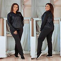 Женский весенний спортивный костюм новинка 2020 Женский спортивный костюм дайвинг черный 5 расцветок, фото 1