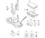 Реле вентилятора 12v 4pin, GM, 94580702, фото 4