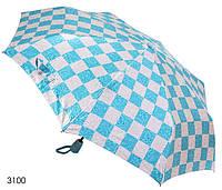 Зонт женский полуавтомат абстракция (искусственный шелк), фото 1