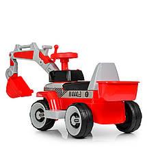 Детский трактор толокар на моторе Bambi M 4144L-3, фото 3