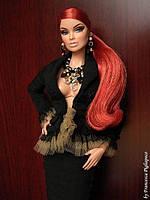 Колекційна лялька Integrity Toys 2006 Fashion Royalty Vanessa Perrin Obsidian Society, фото 6