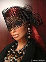 Колекційна лялька Integrity Toys 2006 Fashion Royalty Vanessa Perrin Obsidian Society, фото 9
