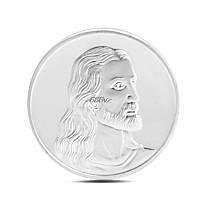 """Монета Иисус """"Тайная вечеря"""" в капсуле"""