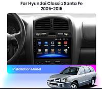 Junsun 4G Android магнитола для hyundai Classic Santa Fe 2005-2015