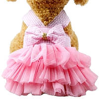 Платье для собак «Адель», розовый